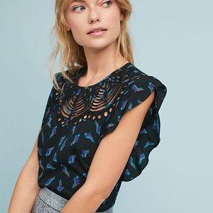 Anthropologie |  ranna gill Fluttered Cutwork 777